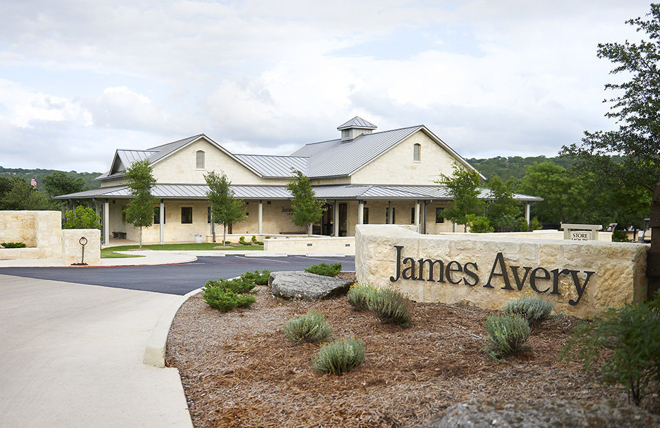 The James Avery Artisan Jewelry retail store located in Kerrville, Texas
